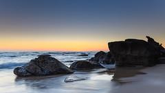 Clear Skies Sunrise Seascape (Merrillie) Tags: daybreak sunrise seashore nature dawn australia surf centralcoast morning weather newsouthwales waves noraville nsw sea beach ocean sky landscape earlymorning coastal waterscape outdoors seascape hargravesbeach coast water seaside