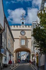 The East gate Arch (WatsonMike) Tags: devon england ipsv0462 newkeywords rampartswalk southhams totnes tourism tourist arch building facade