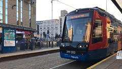 399203 (Sam Tait) Tags: sheffield supertram super tram trams yorkshire test public transport city 399203