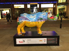 Tusk Rhino Trail (London and more) Tags: london england britain westminster tuskrhinotrail rhino tusk trail art ronniewood