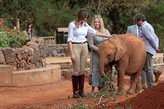 First Lady Melania Trump's Visit to Africa (The White House) Tags: typical