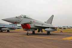 MM7307 (37-01) Eurofighter EF2000 Typhoon Italian Air Force RIAT RAF Fairford 13th July 2018 (michael_hibbins) Tags: mm7307 3701 eurofighter ef2000 typhoon italian air force riat raf fairford 13th july 2018 italy europe european aeroplane aviation aircraft aerospace airplane aero airshow airfields afterburner afterburners jet jets military multiengined multirole defence strategic fighter bomber