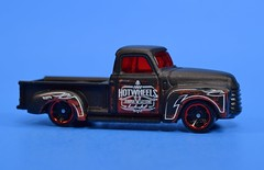 Hot Wheels '52 Chevy (FranMoff) Tags: black hotwheels cars vehicles diecast 52chevy pickuptruck