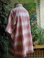 chemise garance shibori dos