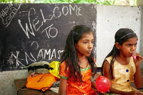 Puruthippara Namaste tuition. Kerala, India, 2018