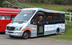 Cobham Chatterbus KT11 BUS (tubemad) Tags: cobham chatterbus kt11bus mellor strata mercedes sprinter spring rally brooklands c1