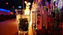 Summer Nights (Renate Bomm) Tags: renatebomm sonyilce6000 hamburg night bokeh huawei smartphone cocktail