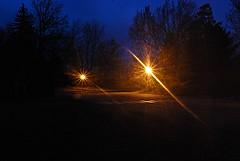 l'Abbaye de Saint-Benoît-du-Lac (Pwern2) Tags: saintbenedictabbey abbey christianmonastery architecture church saintbenoîtdulac eastern townships memphrémagogregionalcountymunicipality memphrémagog multicolouredbricks night longexposure lighttrails lighttrail streetlamps abbayesaintbenoîtdulac québec