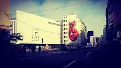 Street art (Vasil Gochev) Tags: streetart street art fox paint wall building architecture travel traveling tour tourist tourism bratislava europe slovakia sky cloud city people stories colors photooftheday photography picture light shadows flickr flickroftheday