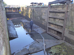 Maintenance @ Beeleigh Lock (Essex Explorer) Tags: p1110892 maintenance beeleighlock chelmerandblackwaternavigation beeleigh essex