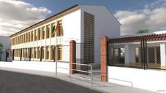 Colegio Vicente Espinel - Exterior 05 (jm00092) Tags: blender 3d ronda vicenteespinel