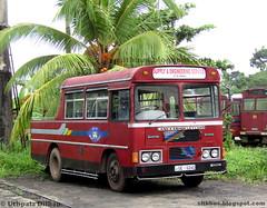 SLTB breakdown service - Horana depot (Uthpala Dilhan) Tags: breakdown sltb sltbbusblogspotcom hr horana deport srilanka ctb