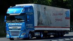 D - Sinntrans >Hanse Haus< DAF XF 106 SSC (BonsaiTruck) Tags: sinntrans hanse haus daf lkw lstwagen lastzug truck trucks lorry lorries camion caminhoes