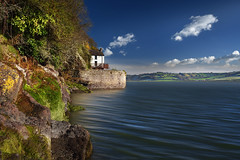 laugharne_53 (philfitzsimmons.co.uk) Tags: dylanthomas boathouse laugharne carmarthenshire wales heritage poets coast