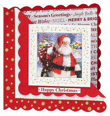 Craft Creations - Shelley183 (Craft Creations Ltd) Tags: santa fatherchristmas christmas greetingcard craftcreations handmade cardmaking cards craft papercraft