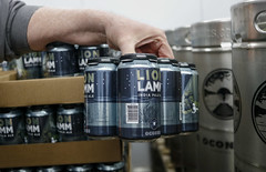 The beer, Lion Lamm, comes from a spin on Taylor Lamm's son's name, Leo, and his own last name.