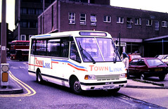 Slide 125-64 (Steve Guess) Tags: barbsley south yorkshire england gb uk bus traction mcw metrorider townlynx d527sky