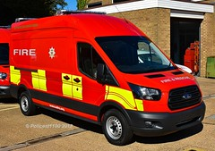 East Sussex Fire & Rescue Ford Transit f (policest1100) Tags: east sussex fire rescue ford transit f