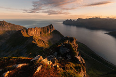 Somewhere in Time (Andrew G Robertson) Tags: husfjellet senja norway sunrise fjord norge