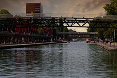 PArc de la Villette et canal de l'Ourcq (Edgard.V) Tags: paris parigi parc park parque canale channel ciel ceu sky
