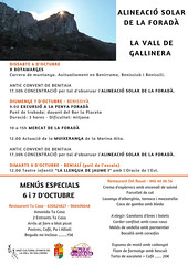 Mercat Foradà Vall Galllinera 9 octubre