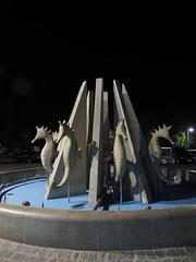 M2110393 E-M1ii 12mm iso200 f2.8 0.8s 0 (Mel Stephens) Tags: galicia holiday o grove spain 20180911 201809 2018 q3 3x4 tall olympus mzuiko mft microfourthirds m43 1240mm pro omd em1ii ii mirrorless sculpture art fountain