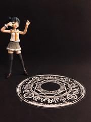 Summoning Spell (Sasha's Lab) Tags: yoshiko yohane tsushima 津島善子 lovelivesunshine chuunibyou high school uniform teen girl magic circle spell figma action figure jfigure gsc