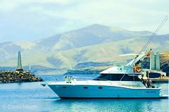 Boat (davidheath01) Tags: blue red colour color d5100 dslr nikon boat sea