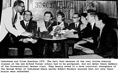 Coal Strike affects Irlam and Cadishead evening classes 1972.