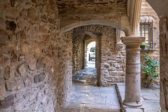 Overnight stop at the bastide village of Sauveterre-de-Rouergue (doublejeopardy) Tags: house france sauveterrederouergue averyron village fortifiedmiddleages bastide aveyron fr
