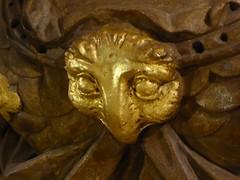 Athene's owl (JuliaC2006) Tags: greenwich royalnavalcollege paintedhall owl gold