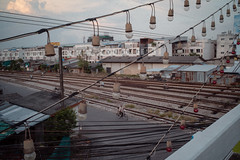 * (Sakulchai Sikitikul) Tags: street snap streetphotography summicron songkhla sony 35mm geometry leica thailand hatyai bicycle a7s