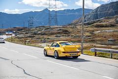 964 Carrera RS 3.8 (Nico K. Photography) Tags: porsche 964 carrera rs 38 yellow rare classic supercars nicokphotography view mountains switzerland gotthardpass