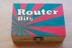 Router Bits Box (basswulf) Tags: d40 50mmf18e lenstagged unmodified 32 image:ratio=32 camerasetting:aperture=f4 permissions:licence=c 20180925 201809 3008x2000 design router woodworking tools box decoration