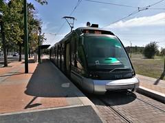 Capolinea linea 15  Rozzano (Matteo fromMI) Tags: tram linea15 atmmilano eurotram bombardiereurotram capolinealinea15rozzano atm