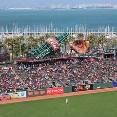 AT&T Park - San Francisco, CA (russ david) Tags: att park san francisco ca california baseball stadium field mlb mccovey cove bay diamondbacks giants arizona june 2018