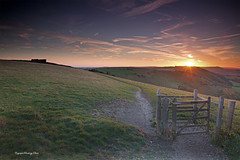 Devil's Dyke, Sussex. Uk (PANDOOZY PHOTOS) Tags: bombhouse devilsdyke eastsussex sussex westsussex uk gb aonb countryside landscape sunset unitedkingdom greatbritain hills hillside trees rollinghills nationaltrust beautyspot southdowns nationalpark southdownsnationalpark brighton hove southernengland south england british english valley suusexweald drychalkvalley touristattraction tourism beautiful nature scenic summer woodengate gate englishcountryside britishcountryside truleighhill