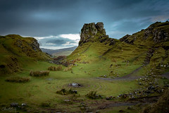 Fairy Glen on Island Skye (christelhphotographies) Tags: fairy landscape skye dramatic rock stone nature mood dark scotland clouds island