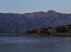 Twilight in Montenegro (milovujicic3012) Tags: sea seaside town tower bayofkotor bay boka kotorska donjistoliv 6d landscape milovujicic montenegro crnagora mediteran water mountain hill adriatic