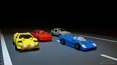 Micromaster Race Car Patrol (Klinikle) Tags: transformers micromaster autobot patrol robot race car racecar swindler tailspin roadhandler freewheeler hasbro