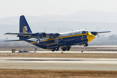Fat Albert (Trent Bell) Tags: aircraft mcas miramar airshow california socal 2018 fatalbert blueangels c130t hercules military