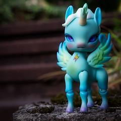 Aimerai Lord Flash (la manie) Tags: bjd balljointeddoll doll aimerai unicorn