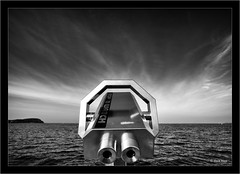 cloud spotting with the Laowa 10-18 prototype in Travemünde (Dierk Topp) Tags: a7rii bw ilce7rii ilce7rm2 laowa1018 ostsee sonya7rii travemünde clouds ocean sw sony wideangle