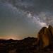 Rock and Milky Way, Alabama Hills