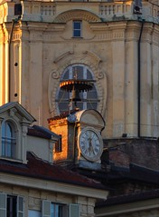 Details (giuselogra) Tags: torino turin italia italy piedmont piemonte time architecture watch clock sunset canonphotos canon200d