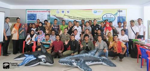 Marine Mammal Stranding Training in Central Bangka 5-7Sep17 (1)