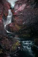 Waterfall of Lumajo (pgonmay) Tags: nikon nikonista nikonsp leonsp landscape waterfall paisaje españa ngc autumm otoño colors d7000 tokina124 lumajo cascada agua water