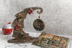 before Christmas 2 (Button-NK) Tags: decoupage toys holiday newyear christmas hobby decorationforthechristmastree