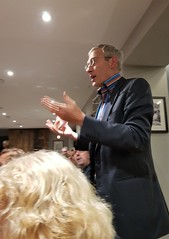 2018 0922 632 (SGS8+) Jeremy Vine; Appledore; The Royal George; ABF Friends' VIP Dinner (Lucy Melford) Tags: samsunggalaxys8 appledore book festival friends vip dinner jeremy vine