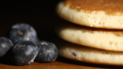 288/365-Blueberry pancakes (jezcritchlow1) Tags: 365the2018edition 365 macromondays bfood